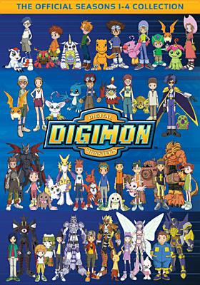 DIGIMON COLLECTION:SEASONS 1-4 BY DIGIMON (DVD)